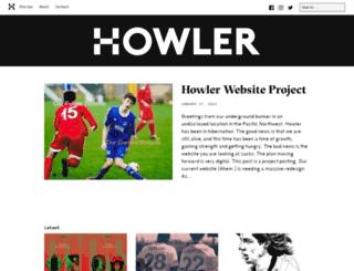 v2.howlermagazine.com screenshot