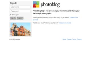 v2.photoblog.com screenshot