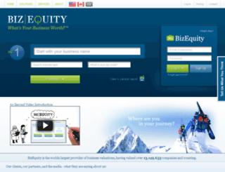 v4.bizequity.com screenshot