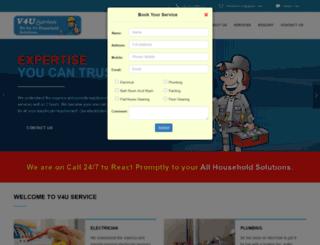 v4uservice.com screenshot