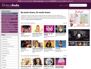 v5player.slipstreamradio.com screenshot