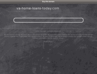 va-home-loans-today.com screenshot