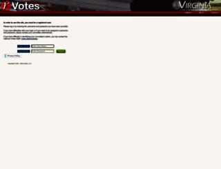 va.rvotes.com screenshot