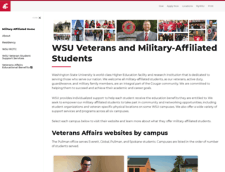va.wsu.edu screenshot