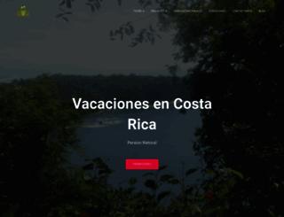 vacacionesencostarica.com screenshot