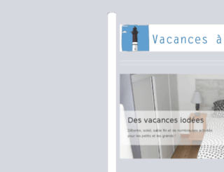 vacances-loctudy.fr screenshot