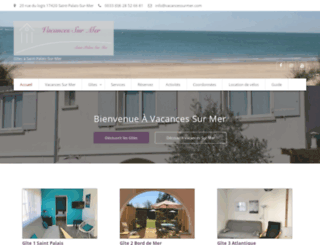 vacancessurmer.com screenshot