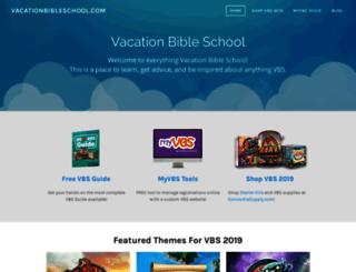 vacationbibleschool.com screenshot