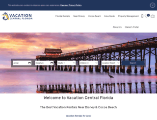 vacationcentralflorida.com screenshot
