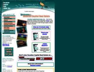 vacationhomessite.com screenshot
