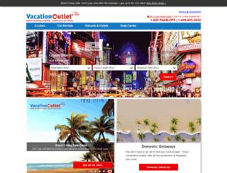 vacationoutlet.com screenshot