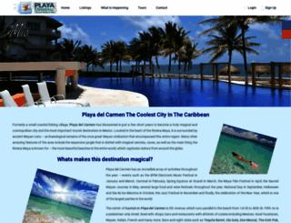 vacationrentalinplaya.com screenshot