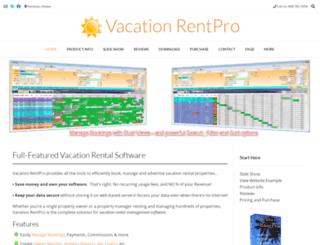 vacationrentpro.com screenshot
