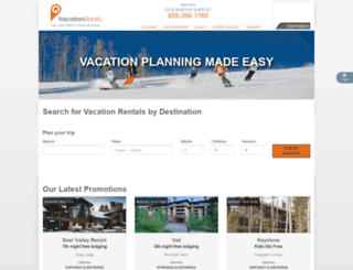 vacationroost.com screenshot