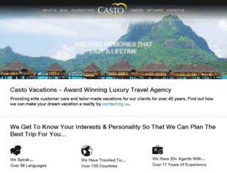 vacations.casto.com screenshot