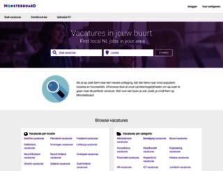 vacatures.monsterboard.nl screenshot