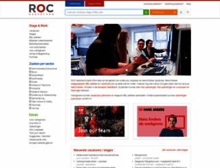 vacatures.roc.nl screenshot