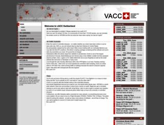 vacc.ch screenshot