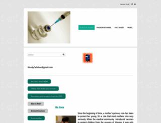 vaccinetruth.org screenshot