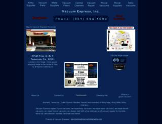 vacexpress.net screenshot