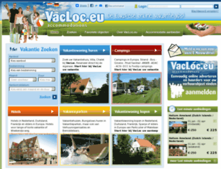 vacloc.eu screenshot