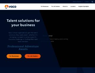 vaco.com screenshot