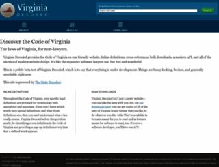 vacode.org screenshot