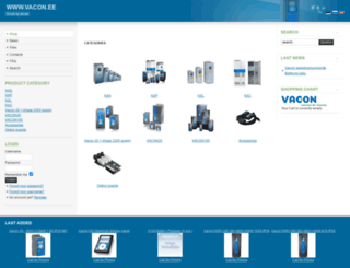vacondrive.ee screenshot