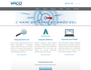 vacosystem.pl screenshot