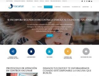 vacunar.com.ar screenshot