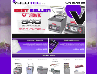 vacutec-australia.com screenshot