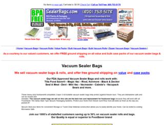 vacuum-sealer-bags.com screenshot