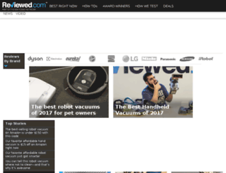 vacuumcleanerinfo.com screenshot