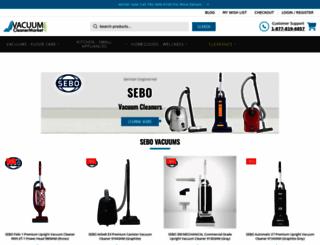 vacuumcleanermarket.com screenshot