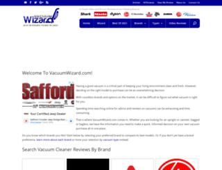 vacuumwizard.com screenshot