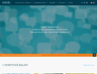 vadas.sk screenshot