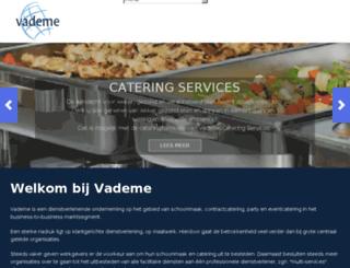 vademe.nl screenshot