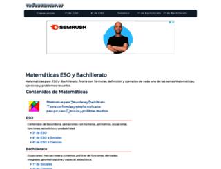 vadenumeros.es screenshot