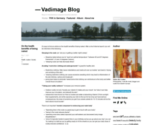 vadimage.wordpress.com screenshot