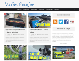 vadimpacajev.com screenshot