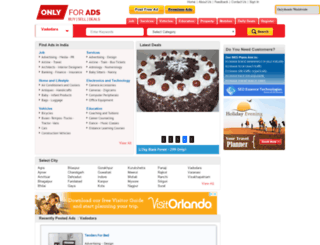 vadodara.onlyforads.com screenshot