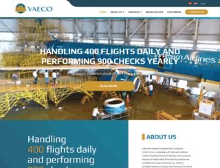 vaeco.com.vn screenshot