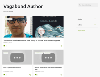 vagabondauthor.blogspot.in screenshot