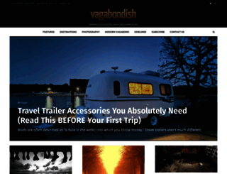 vagabondish.com screenshot