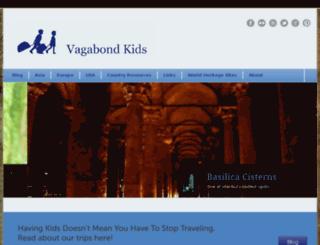 vagabondkids.com screenshot