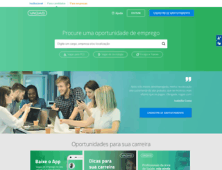 vagas.com screenshot