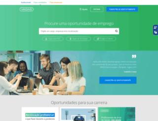 vagastec.com.br screenshot