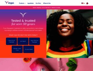 vagisil.com screenshot