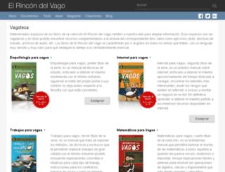 vagoteca.rincondelvago.com screenshot