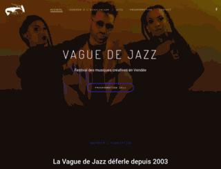 vaguedejazz.com screenshot